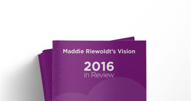 Maddie Riewoldt's Vision: 2016 in Review