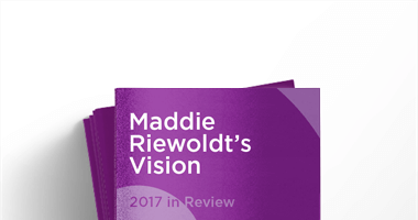 Maddie Riewoldt's Vision: 2017 in Review