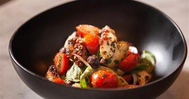 Warm Octopus Salad Recipe